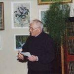 Открытие персональной выставки камышловского художника В.Г. Кузьмина 4 апреля 2001 г.